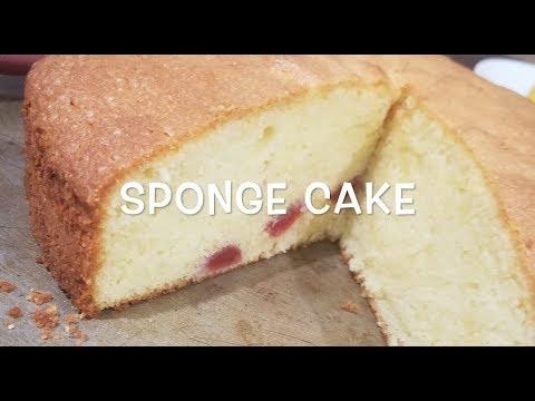 Holiday Sponge Cake || Episode 42