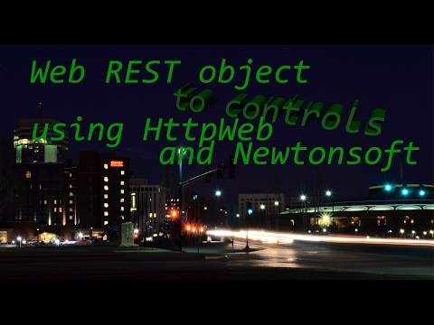 Calling a REST service from Winforms and binding to grid