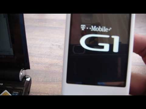 Unlocking my T-Mobile G1 Android Phone