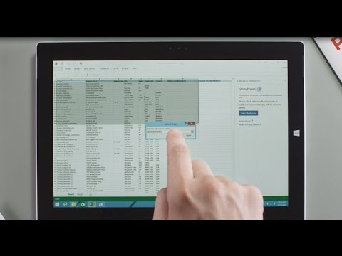 Pitney Bowes Validate Address Application for Microsoft Excel