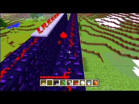 Huge tnt Cannon 18 Blocks Long Minecraft xbox 360 edition Kirinzon