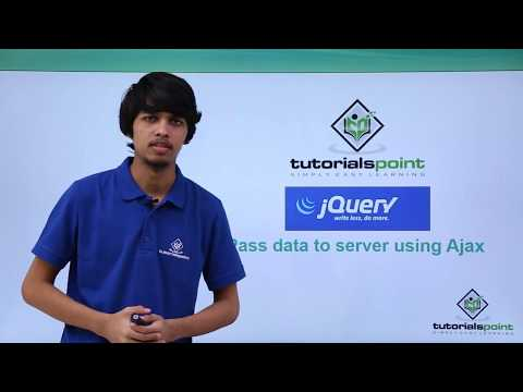 JQuery - Pass Data to Server Using Ajax
