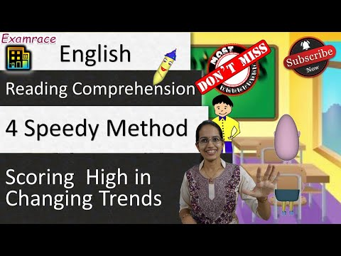 Reading Comprehension Scoring High in Changing Trends - 4 Speedy Method for UPSC IAS Prelims