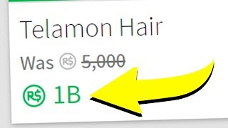 THE MOST EXPENSIVE ROBLOX ITEM..