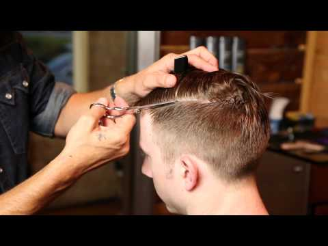 Barbering Haircut Techniques : Looking Sharp: Men's Hair
