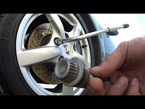 How to remove the secret bolts, lock nut without a secret key wheel - easy method