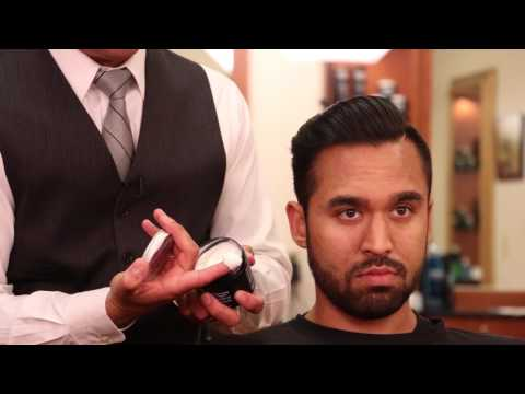 How To Style a Disconnected Combover with Gel and Pomade