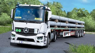 Euro Truck Simulator 2 Promods 2 25 | North - South | Nordkapp (NO