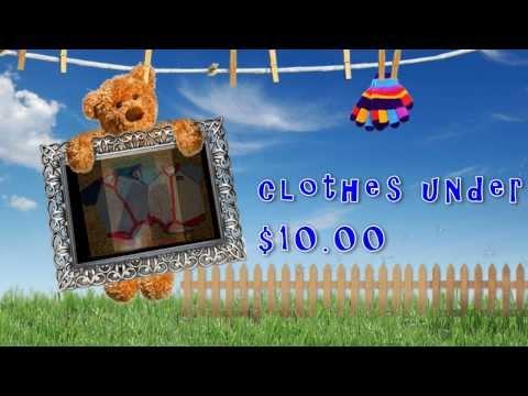 Kids Clothes under $10.00 * Baby Clothes Under $10.00 *Toddler Clothes Under $10.00