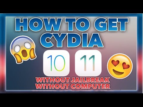 HOW TO GET CYDIA ON iOS 11-11.0.3 WITHOUT JAILBREAK/PC