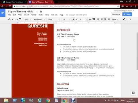 Make stylish CV online without MS Office in Urdu Hindi Tutorial 2016 - 2017