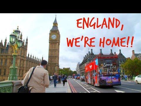 England VLOG #1 | WE MOVED TO ENGLAND!!!