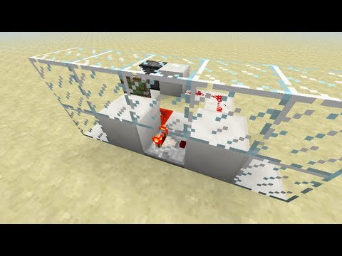 Redstone - Comparator T-BUD & Lever
