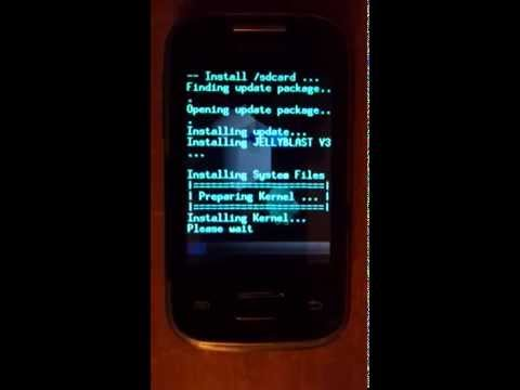 Jelly Bean 4.1.1 on Samsung GT-S5300 (Galaxy pocket)