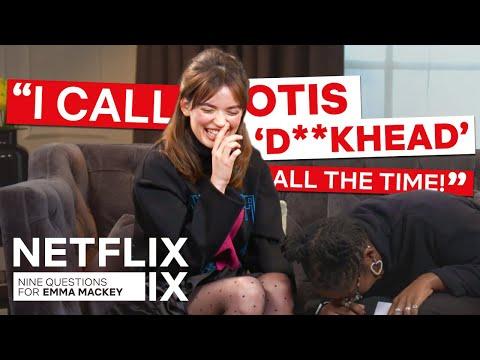 Xxx Mp4 The Emma Mackey Sex Education Interview Netflix IX 3gp Sex