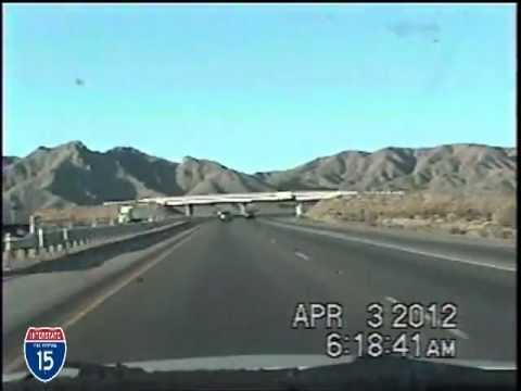 Las Vegas NV to San Diego CA Time Lapse Drive I-15 Southbound