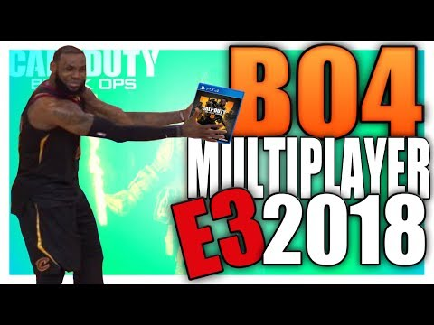 Black Ops 4 Multiplayer Gameplay at E3 2018 (COD BO4 News)