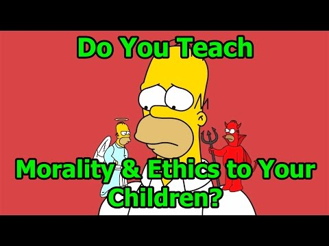 Real Life Tragedy - Do You Teach Morality & Ethics to Your Children?