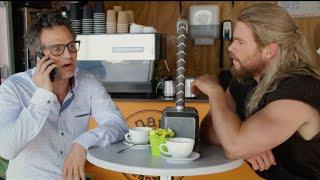 Captain America: Civil War: Team Thor Funny Reason Why Thor & Hulk Weren