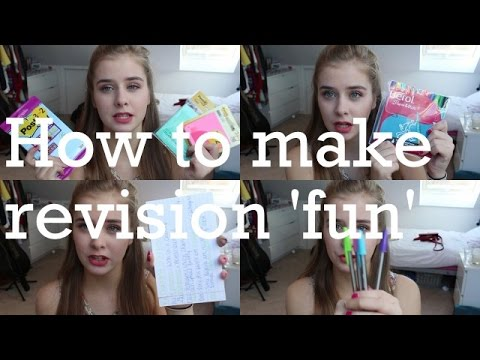 How to make revision 'fun'