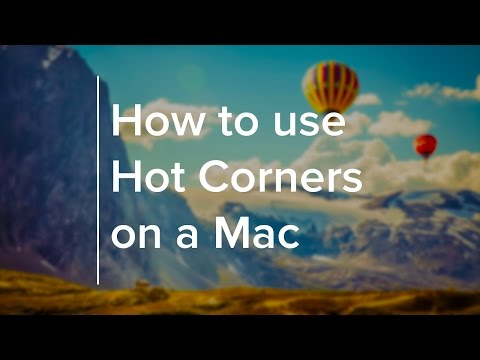 How to use Hot Corners on a Mac
