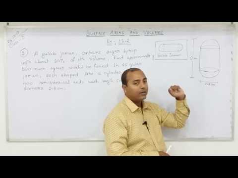 Class 10 Surface Areas and Volumes  (Part - 7)
