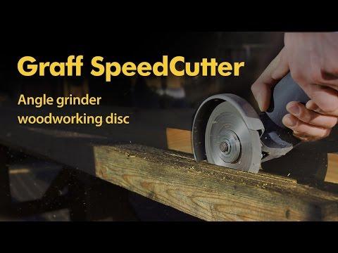 Safest angle grinder blade for wood GRAFF SpeedCutter