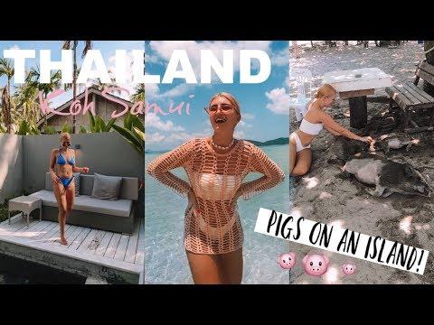 Xxx Mp4 KOH SAMUI PRIVATE VILLA ISLAND HOPPING Amp PIG ISLAND THAILAND VLOG 3 3gp Sex