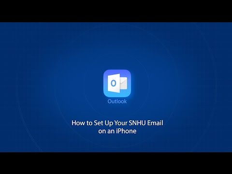 How to Set Up Your SNHU Email on an iPhone