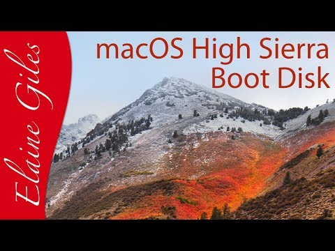 How to Create a macOS High Sierra Installation Boot Disk