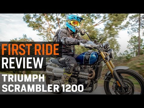Triumph Scrambler 1200: Spurg's Naked Adventure