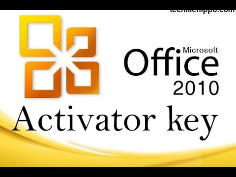 How to activated Microsoft Office  2010 without serial or product key