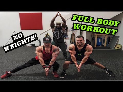 Intense 10 Minute FULL BODY At Home Workout