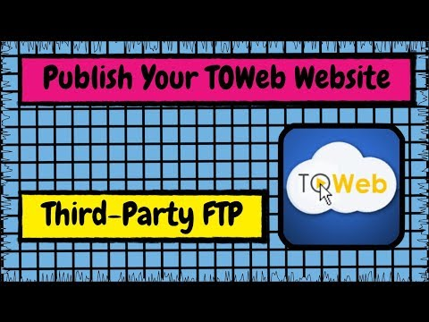 How to Publish Your Lauyan TOWeb Website Using a Third Party FTP Program