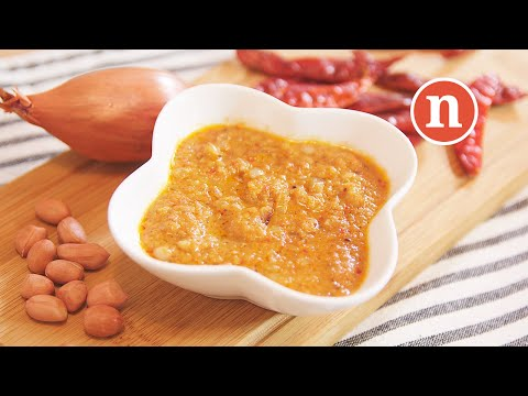 Malaysian Satay Peanut Sauce | Satay Sauce | Kuah Kacang [Nyonya Cooking]