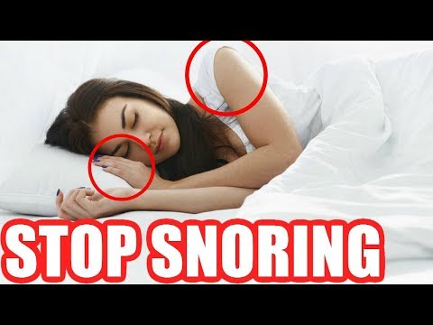 How to Stop Snoring While Sleeping Naturally