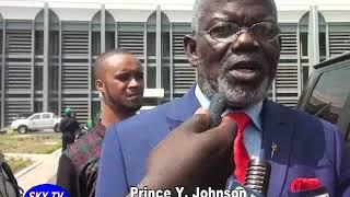 Senator Prince Y. Johnson Backs President Weah Pastoral Career.