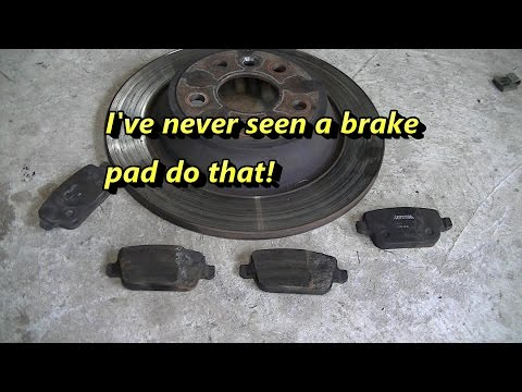 Ford Mondeo Rear Brake Replacement