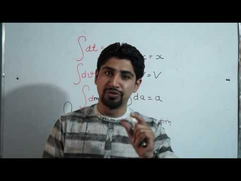 INTRODUCTION TO INTEGRATION :(class 11th)# PHYSICS =VIDEO LECTURE BY.DR.AMAN SEHGAL