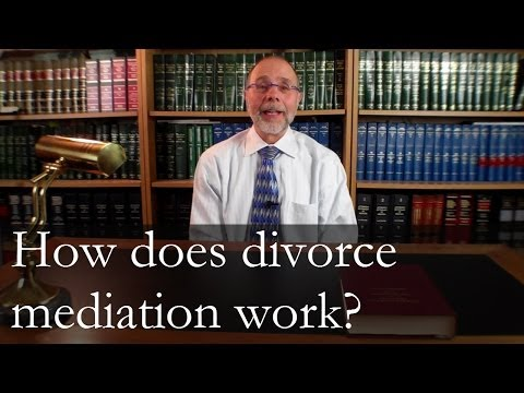 How Does Divorce Mediation Work?