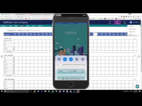 Introduction to Microsoft StaffHub