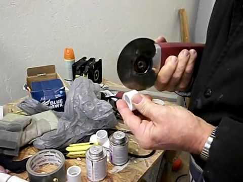 SQUARE CUTTING PVC PIPE WITH A MULTI-TOOL