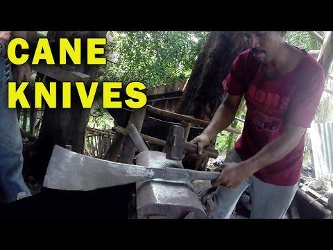 How Blacksmiths make Sugarcane Machetes