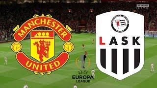 Europa League 2020 Round 16 - Manchester United Vs LASK Linz - 2nd Leg - 19/03/20 - FIFA 20