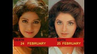 Top 3 Similarities Between Sridevi and Divya Bharti