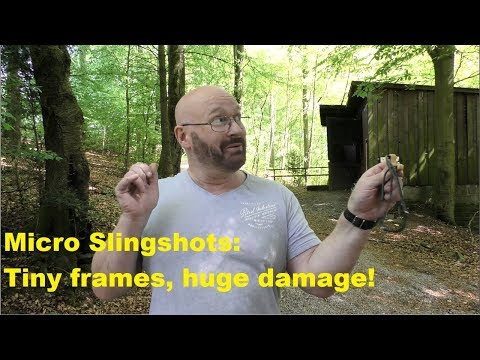 Micro slingshots: Tiny but mean!