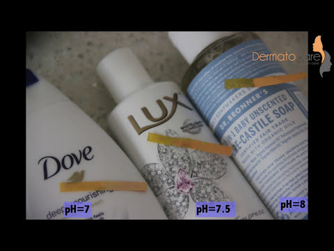 pH test of body wash: Know your skin care products