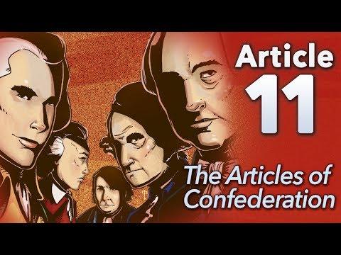 ♫ Articles of Confederation: