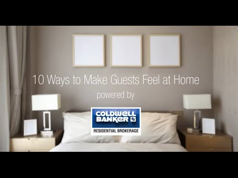 10 Ways to Make Guests Feel at Home