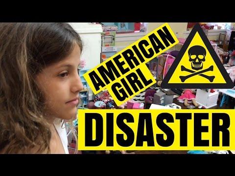 American Girl Room Disaster - World's Messiest AG Room
